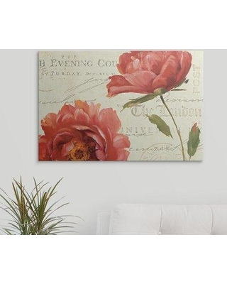 """Great Big Canvas 'My Own Words' by Lisa Audit Graphic Art Print 1053157_1 Size: 20"""" H x 30"""" W x 1.5"""" D Format: Canvas"""