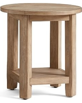 Benchwright Round Side Table, Seadrift