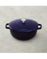 Staub Essential French Oven, Rooster, 3 3/4-Qt., Sapphire