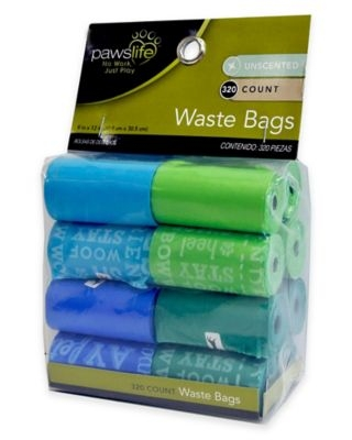 PAWSLIFE® 320-Count Pet Waste Bags