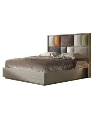 Shop Deals On Dinapoli Tufted Solid Wood And Upholstered Standard Bed Everly Quinn Size King