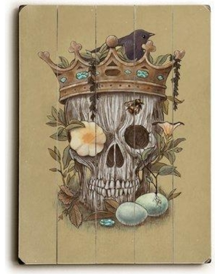 """East Urban Home 'Nature's Reign' Graphic Art Print on Wood ESUN1929 Size: 20"""" H x 14"""" W"""