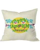 """Deny Designs Whatever Happens Outdoor Throw Pillow 14448-thrpi10 Size: 16"""" H x 16"""" W x 5"""" D"""