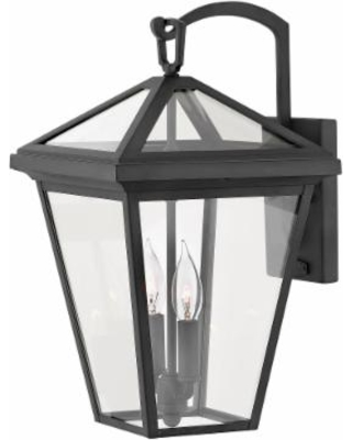 Hinkley Lighting Alford Place 17 Inch Tall 2 Light LED Outdoor Wall Light - 2564MB-LL