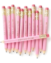 12ct Inklings Paperie Pink Pop Fizz Clink Mini Party Pencils