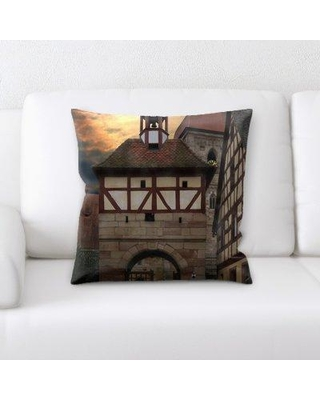 East Urban Home Middle Ages Throw Pillow W000291652