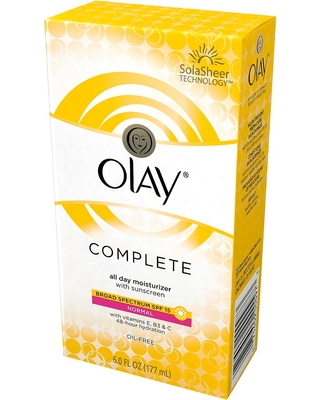 Olay Complete All Day Face Moisturizer with Sunscreen Broad Spectrum SPF 15 Normal 6.0 oz, Adult Unisex, Size: 6 oz