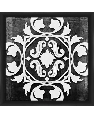 "PTM Images 'Ornamental I' -Picture Frame Graphic Art Print on Paper, Paper in White/Black, Size Medium 25""-32"" Small 18""-24"" 