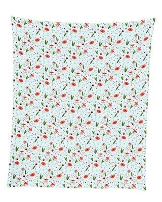"The Holiday Aisle Christmas Confetti Throw Blanket 50""X60"" W002198251"