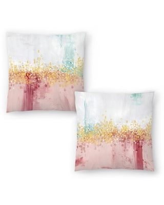 Mustn'T Hurry I and Mustn'T Hurry Ii Set of 2 Decorative Pillows