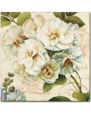 """Ophelia & Co. 'Les Jardin III' Painting Print on Wrapped Canvas OPHL1861 Size: 24"""" H x 24"""" W x 2"""" D"""