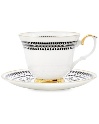 The Curious Department - Insect Mandala Tea Cup & Saucer