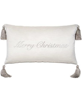 Eastern Accents Merry Christmas Throw Pillow ATE-884