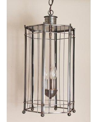 Darby Home Co Chearsley Coastal 3-Light Foyer Pendant DBHM7534 Finish: Antique Copper