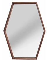 Deal 44 Off Stratton Home Decor Stella Abstract Geometric Floral Wall Mirror Gold Large