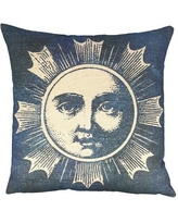 TheWatsonShop Moon Batik Throw Pillow DFV_MOONMOTIFTB