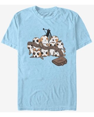 Star Wars Porg Pile and Chewbacca Accessories T-Shirt