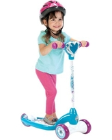 Disney Frozen Preschool Girls' Scooter with Lights and Sounds, by Huffy