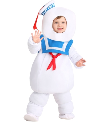 Toddler Ghostbusters Stay Puft Costume