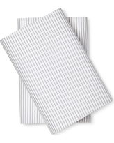 Microfiber Striped Pillowcases (Standard) Blue - Room Essentials, Nighttime Blue