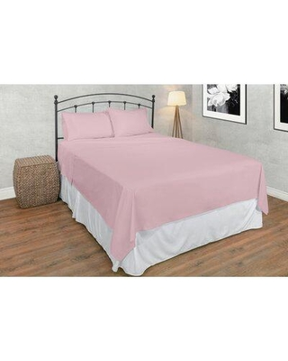 Shop Deals For Eider Ivory Hapeville 200 Thread Count Egyptian Certified Cotton Sheet Set 100 Cotton Cotton 100 Egyptian Quality Cotton In Millennial Pink