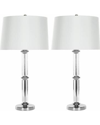 Can T Miss Deals On Safavieh 2 Piece Vendome Crystal Table Lamp Set