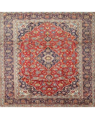 Bloomsbury Market Felman Traditional Red/Brown Area Rug X112035879 Rug Size: Round 3'
