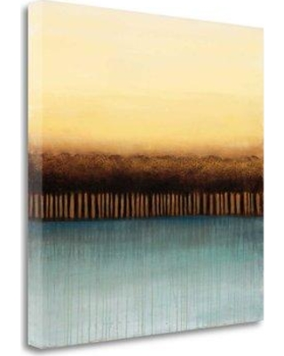 """Tangletown Fine Art 'Unity' Print on Wrapped Canvas CA304128-2020c Size: 25"""" H x 25"""" W"""