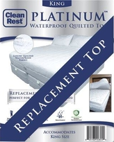 CleanRest Platinum Top Polyester Mattress Pad 845168008013 Bed Size: Queen