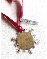 Find The Best Deals On Madeira Beach Sand Snowflake Christmas Holiday Ornament
