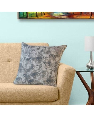 """Wrought Studio Hence Graphic Cotton Pillow W001410586 Size: 20"""" x 20"""" Pillow Type: Throw Pillow Color: Gray"""