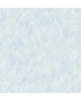 "Winston Porter Weiser 32.7' L x 20.5"" W Faux Texture Wallpaper Roll XOTQ6807 Color: Baby Blue"