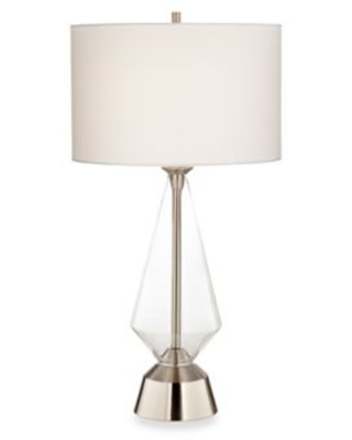 Pacific Coast® Lighting Bellini Table Lamp in Brushed Steel