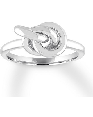 Knot Ring Sterling Silver
