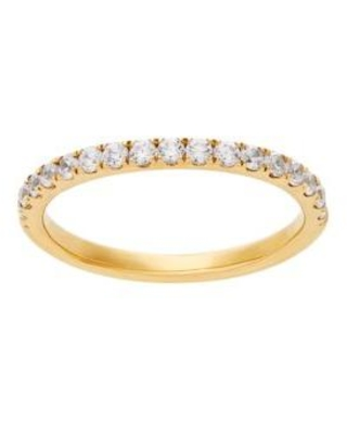 Belk & Co. Yellow Gold Grown With Love 3/8 ct. t.w. Lab Grown Diamond Wedding Band in 14K Yellow Gold