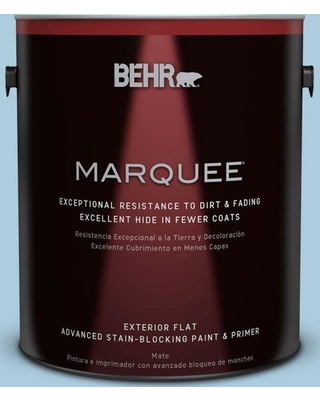 BEHR MARQUEE 1 gal. #M500-2 Early September Flat Exterior Paint and Primer in One
