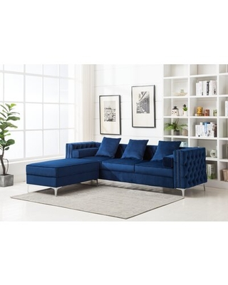 """New Savings on 104"""" Reversible Modular Sectional with ..."""