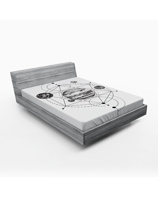 Fitted Sheet East Urban Home Size: Queen