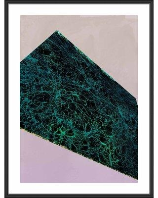 Wrought Studio 'Framed Texture 3' Framed Graphic Art Print on Canvas BF171173