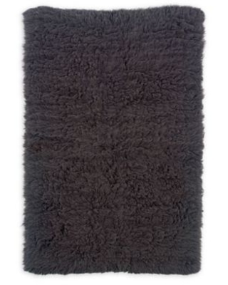 Linon Home Décor Products Flokati 1400 gram 8' x 10' Area Rug in Grey