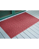 Big Deal On Charlton Home Catalina Ornamental Cozy 36 In X 24 In Non Slip Outdoor Door Mat Synthetics In Red Size 24 W X 36 D Wayfair