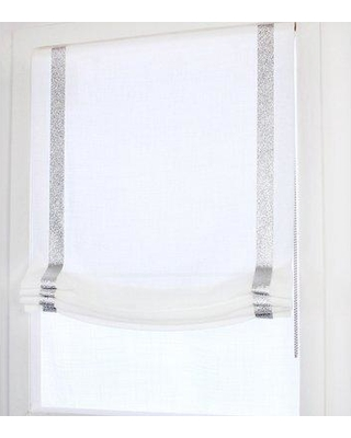 f30d36a839 Canora Grey Relaxed Sheer Roman Shade CAGY3154 Blind Size  46