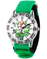 Marvel Guardian Of The Galaxy Marvel Boys Green Strap Watch Wma000140, One Size
