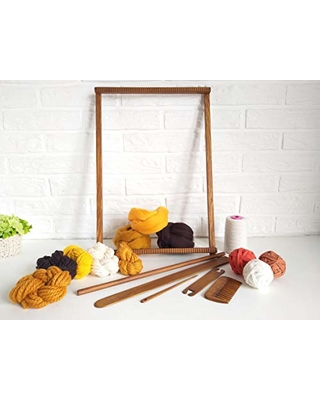 Handiwork Your Love Tapestry Loom Beginners Weaving Kit With Tools Yarn Instruction Woven Wall Art Kit Diy Craft Kit Adults From Amazon Bhg Com Shop