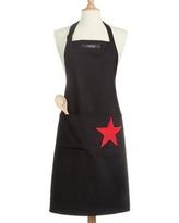 Macy's Classic Star Apron, Created for Macy's - Black