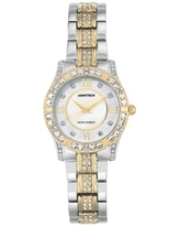 Armitron Women's Mother of Pearl Genuine Crystal Dress Watches