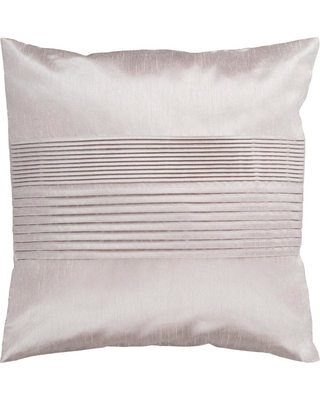 Artistic Weavers Virgili Brown Solid Polyester 22 in. x 22 in. Throw Pillow