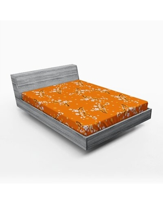 Floral Fitted Sheet East Urban Home Size: Queen