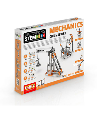 STEM Cams and Cranks - Building & Construction for Ages 8 to 10 - Fat Brain Toys