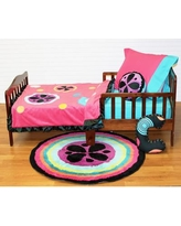 One Grace Place Magical Michayla 4 Piece Toddler Bedding Set 10-24123